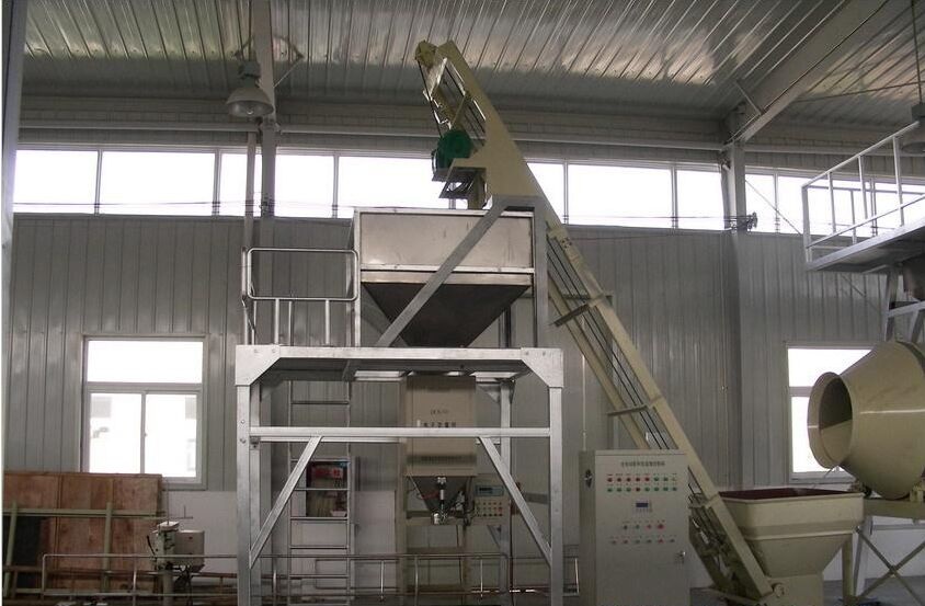 BB fertilizer blending system