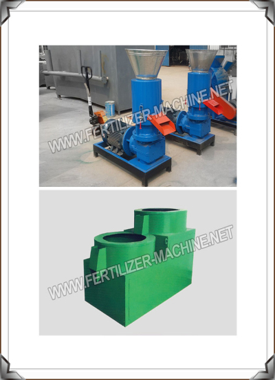 flat die fertilizer pellet mill and fertilizer polishing machine