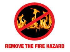 causes of fire hazard