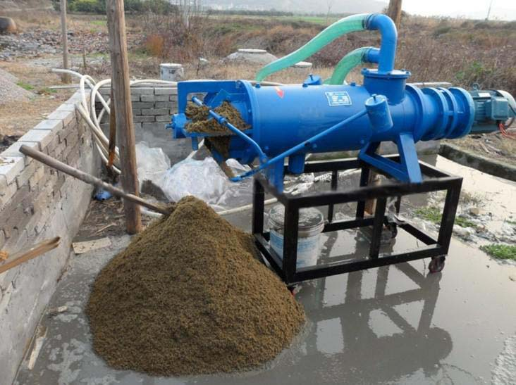 Animal manure dewatering process