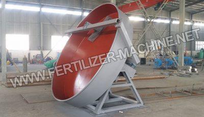 disc fertilizer granulator