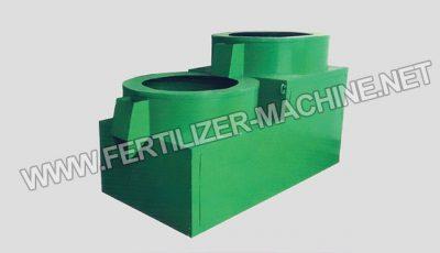 Fertilizer polishing machine