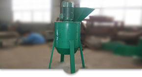 chain fertilizer crusher