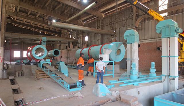 compound fertilizer plant exported