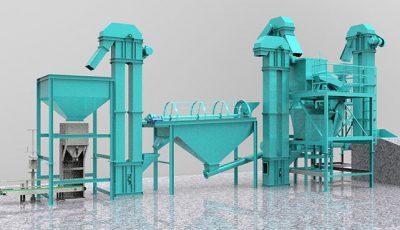 compound fertilizer production plant setup