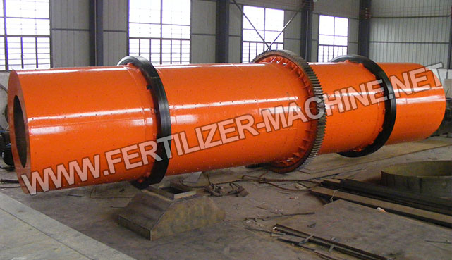 rotary drum compound fertilizer granulator