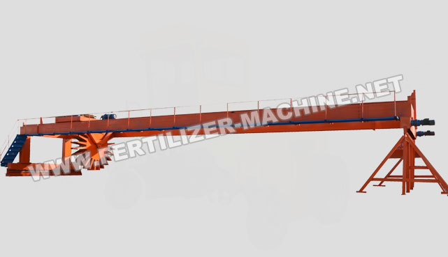 wheel type compost turner